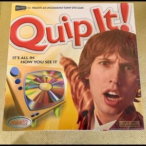 Quip It DVD Pop Culture Throwback Game